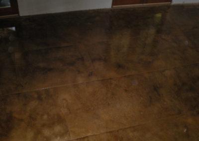 Acid Stain Concrete Floor
