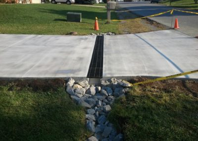 Concrete Driveway Broom Finish