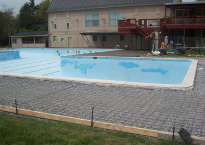 Concrete Pool Deck Installation