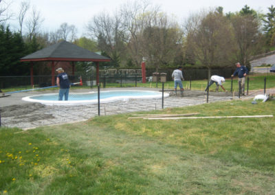Pool Deck Installation